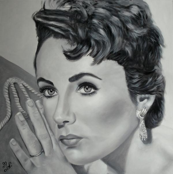 Elizabeth Taylor by mgdecors